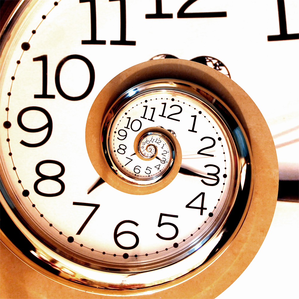 Time spiral for biological age testing