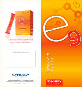 e9 energy drink flyer