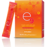 e9 energy drink box and sachet