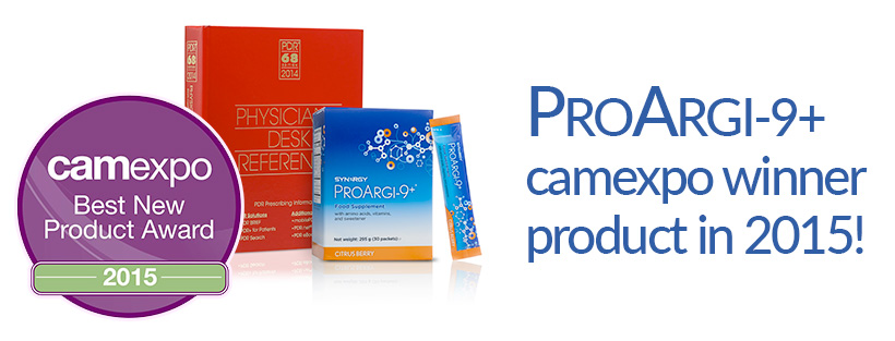 Proargi Camexpo winner for Best new L-Arginine product of 2015