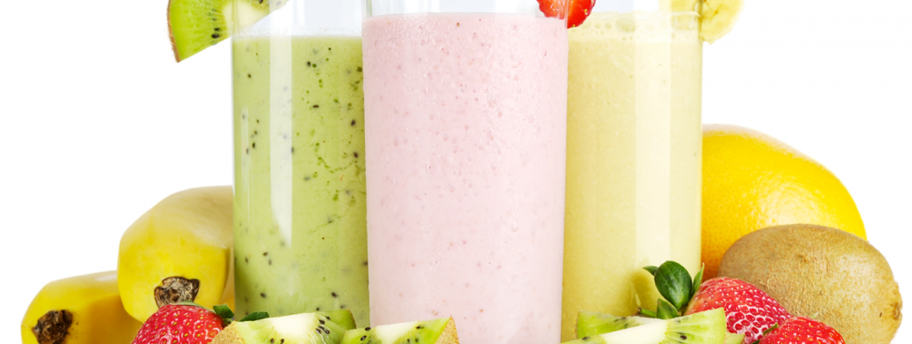 Fruit smoothies made from SLM smart