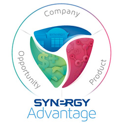 Synergy Advantage logo for business opportunity