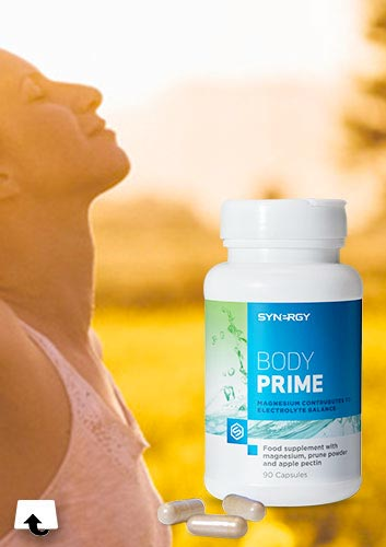 nutrition - Body Prime promo card